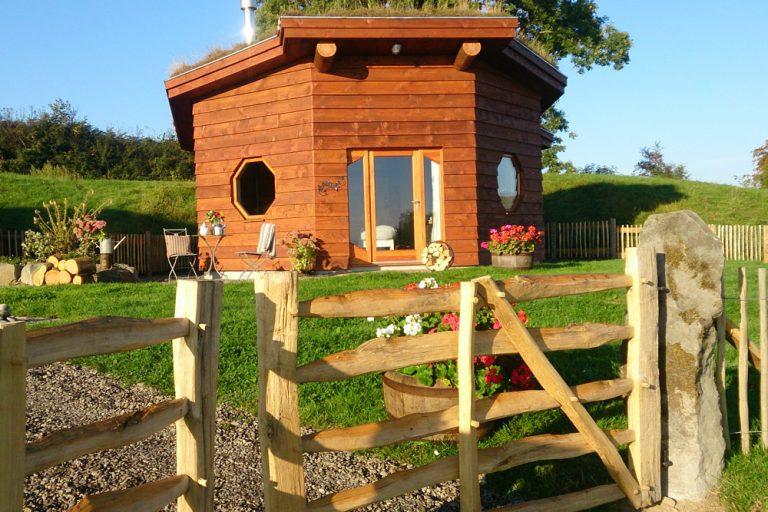 Octagonal Eco Cabins