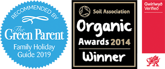 Green Parent Organic Award Visit Wales Accreditation